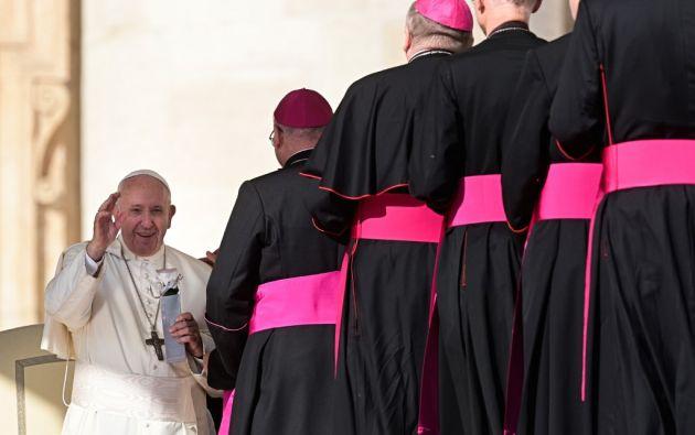 """""""Los pecados ecológicos son algo nuevo para la Iglesia. Debemos comenzar a confesarlos"""", instó la víspera monseñor Pedro Brito Guimaraes. Foto: AFP"""