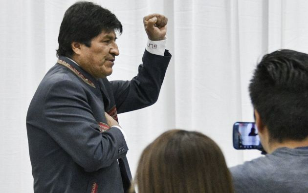 Morales, quien cumple 60 años este sábado, llegó al poder en 2006. Foto: AFP