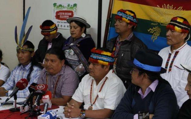 """Vargas explicó que los delegados trabajan en """"mesas temáticas"""" sobre varios aspectos de la realidad nacional."""