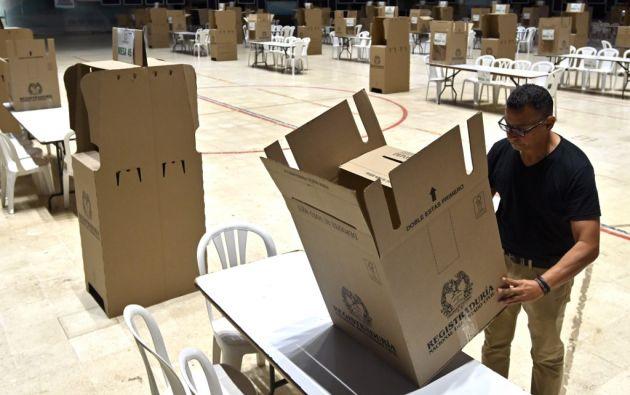 El proceso electoral es uno de los más complejos por el alto número de candidatos y las amenazas de seguridad. Foto: AFP