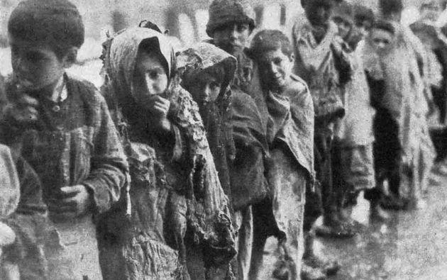 Cerca de dos millones de armenios murieron durante la persecución de Turquía a esta población entre 1915 y 1923.