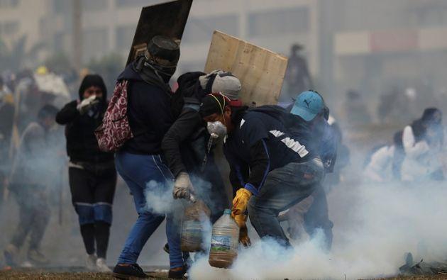 Los expresidentes se refirieron especialmente a las recientes protestas en Chile y Ecuador. Foto: AFP