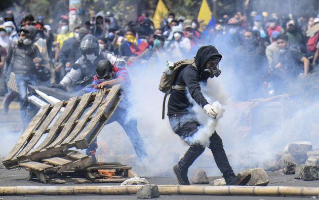 """Almagro denunció un """"patrón"""" de desestabilización proveniente de Venezuela y de Cuba, orientado primero a Colombia y Ecuador y después a Chile. Foto: AFP"""