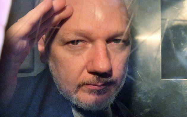 """El relator dijo estar preocupado """"por el continuo deterioro de la salud de Julian Assange"""". Foto: AFP"""