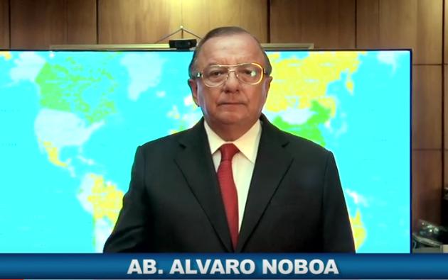 Noboa fue candidato presidencial por el PRE en 1998 y por el PRIAN en los años 2002, 2006, 2009 y 2013, sin resultar electo.
