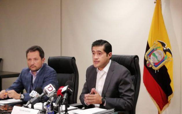 El ministro de Economía y Finanzas, Richard Martínez, aseguró que la proforma 2020 consolidará la recuperación del país.
