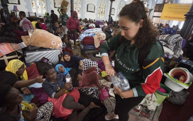 África enfrenta las continuas migraciones de sus habitantes que buscan refugio en otros países a causa de la violencia y la falta de alimentos. Foto: AFP.