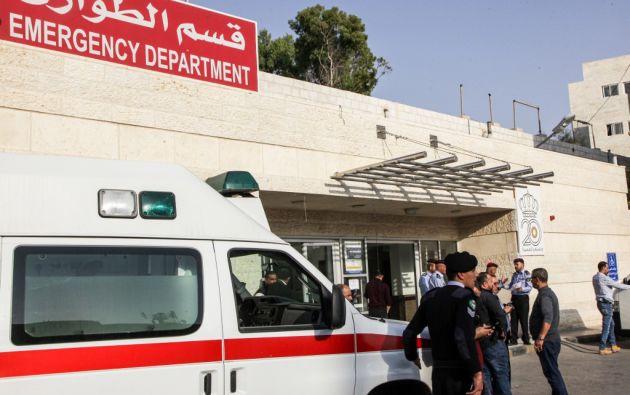 El agresor fue detenido y los heridos fueron trasladados al hospital. Foto: AFP