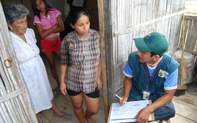 El censo experimental se realizará en cuatro cantones de las provincias de Manabí, Pichincha, Loja y Chimborazo.