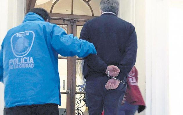 El médico, de 55 años, fue detenido el pasado 29 de mayo mientras se encontraba trabajando en el hospital pediátrico Garrahan de Buenos Aires.
