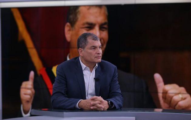 Rafael Correa denunció que existe una operación judicial contra los exlíderes progresistas latinoamericanos.