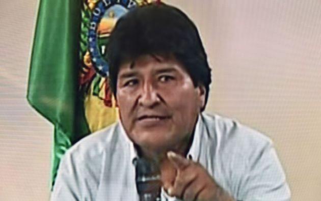 Morales, de 60 años, el presidente latinoamericano que llevaba más tiempo en el poder, renunció el domingo. Foto: AFP