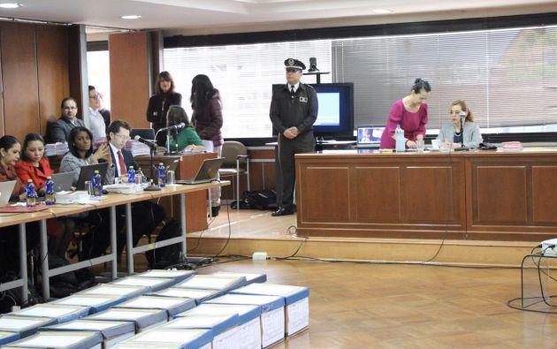 La magistrada acogió el pedido de la Fiscalía General del Estado.