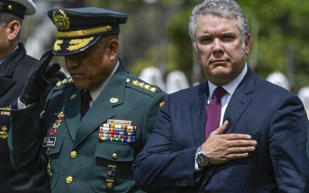 Duque deberá afrontar una nueva protesta en medio de la convulsión social que vive América Latina. Foto: AFP.