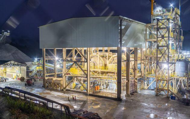 Este jueves se inauguró la fase de explotación y producción de oro en el proyecto Fruta del Norte.