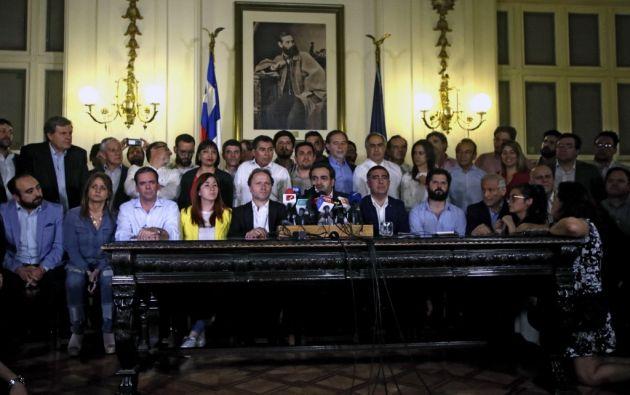 El acuerdo se aprobó en el Congreso chileno. Foto: AFP