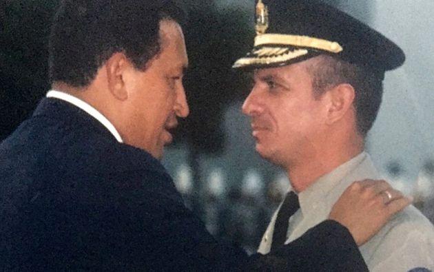 Hugo Carvajal, de 59 años, fue jefe de la contrainteligencia militar con los presidentes Hugo Chávez y Nicolás Maduro.
