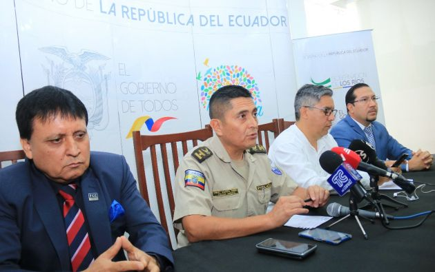 Al momento, todas las unidades especializadas de la Policia Nacional estan en la búsqueda del profesor.