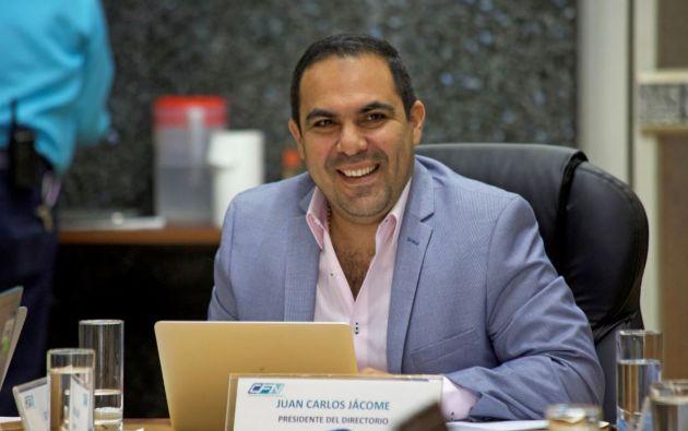 Juan Carlos Jácome, presidente del Directorio de la CFN, recuerda que JUNTOS es la primera iniciativa de este tipo en Ecuador.