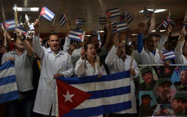 En 2017, los ingresos de Cuba por servicios profesionales eran de $ 9.628 millones. Foto: AFP