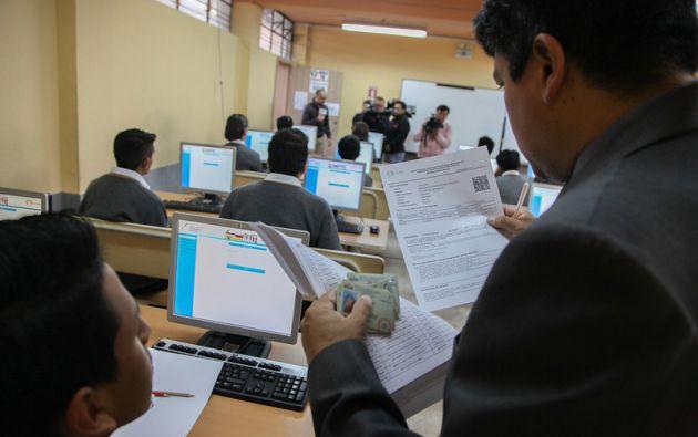 La evaluación contará con 120 preguntas, las cuales medirán las habilidades, aptitudes y destrezas en cuatro campos.