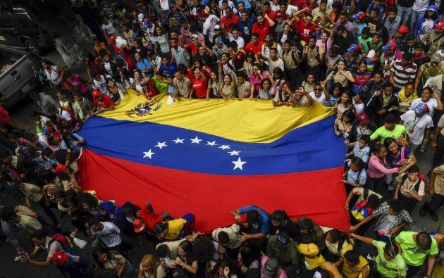 Según la ONU, unos 4,5 millones de venezolanos huyeron de la crisis política y económica que vive su país. Foto: AFP