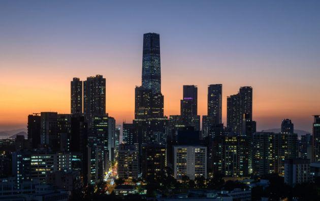 """""""Si no fuera por mí, Hong Kong habría sido borrado en 14 minutos"""", dijo Trump. Foto: AFP"""
