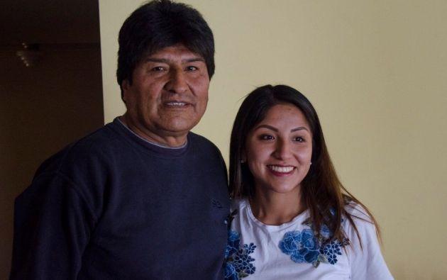 Evaliz Morales, canceló este jueves 21 de noviembre la solicitud de asilo político que había presentado a México. Foto: Twitter.