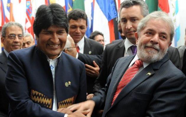 """Cometió un """"error"""" al buscar un cuarto mandato, dijo el expresidente brasileño. Foto: AFP"""