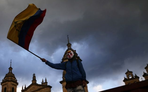 """La Policía explicó que los venezolanos serán expulsados por """"generar vandalismo y violencia"""" en Bogotá.  Foto: Reuters"""