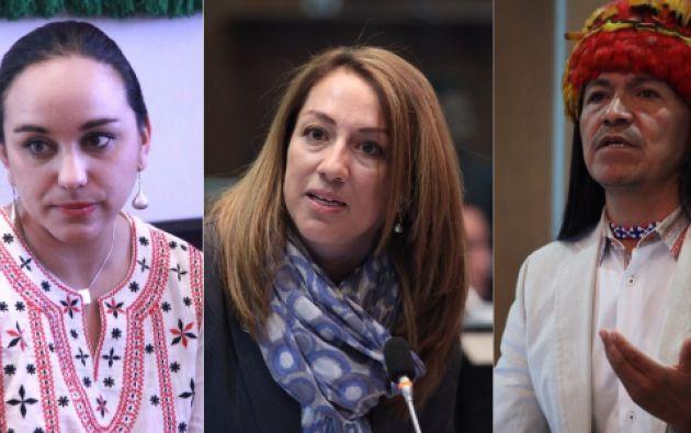 El salario de los tres asambleístas que se encuentran refugiados en la Embajada de México pasará a sus asambleístas.