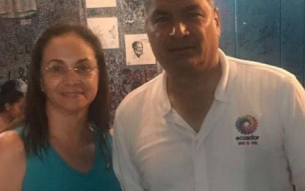 Pierina Correa recibe los $4.226.25 mensuales que le corresponden al exmandatario.
