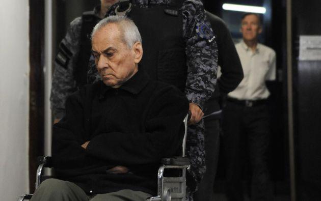 El cura italiano Nicola Corradi de 83 años fue sentenciado a 42 años de prisión. Foto: AFP.