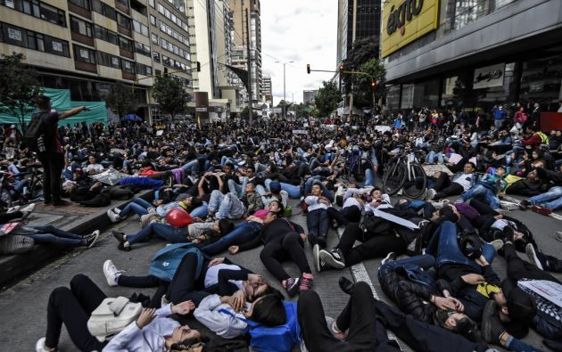 En su mayoría pacíficas, las protestas han dejado sin embargo cuatro muertos y unos 500 heridos. Foto: AFP