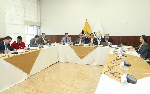 El presidente de la Comisión, Daniel Mendoza, indicó que el 78 % del articulado tiene consenso.