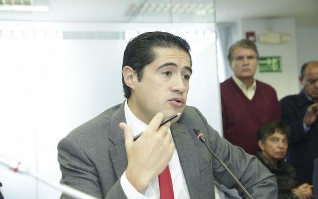 """""""Mantuvimos un positivo encuentro"""" con Georgieva, resaltó Martínez."""