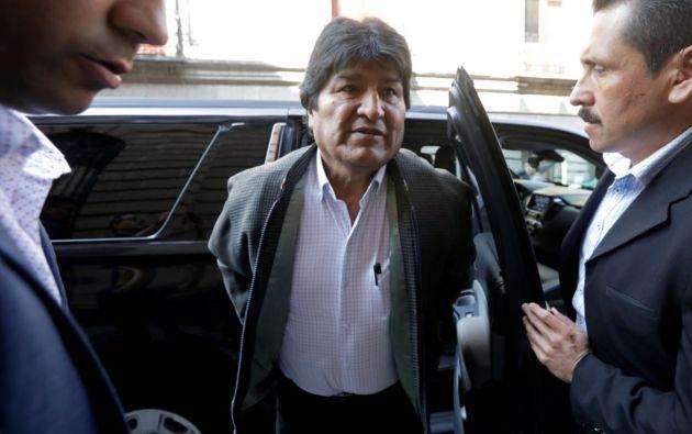 Evo Morales denunció este pasado miércoles desde México que sufre una persecución de la Interpol.