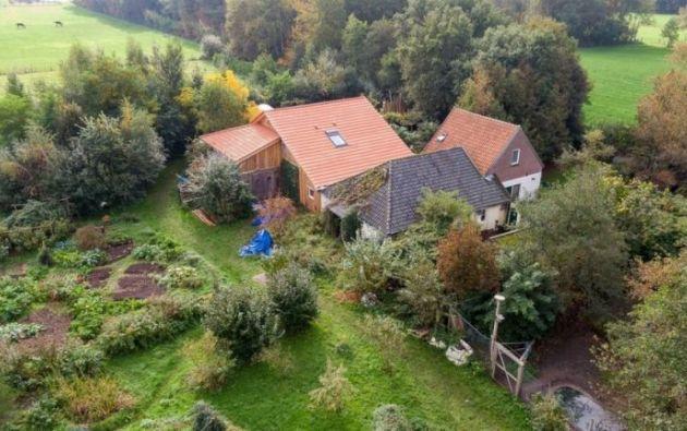Esta es la granja en Holanda en donde Gerrit-Jan van D. retuvo durante 9 años a sus hijos.