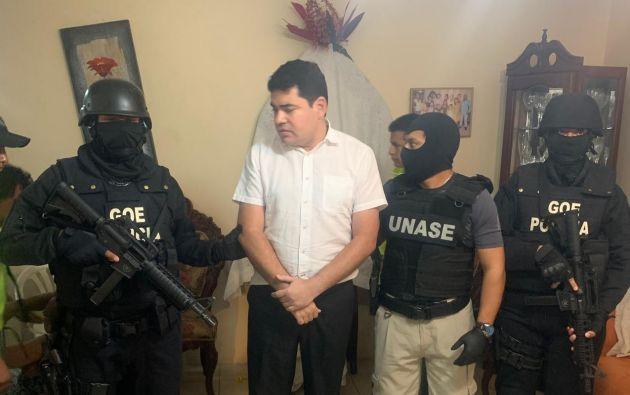 El expresidente de Consejo de Participación Ciudadana y Control Social (CPCCS), José Carlos Tuárez, consta entre los aprehendidos.