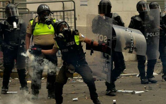 """Bachelet señaló que los disturbios """"tuvieron un alto coste humano"""". Foto: AFP"""