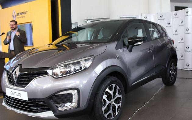 La All New Renault Captur, es un SUV nuevo que llega con motor 2.0 litros en sus dos versiones: Zen e Intens.