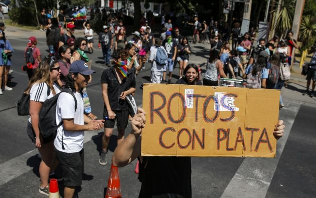 Las manifestaciones se volvieron diarias y han derivado en violencia. Foto: AFP