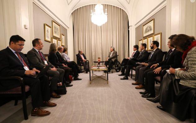 Moreno se reunió con António Guterres, secretario General de la ONU.