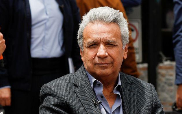 """""""Nosotros actuamos de forma correcta"""", insistió Moreno al ser preguntado sobre si se arrepiente de cómo gestionó las protestas. Foto: Reuters"""
