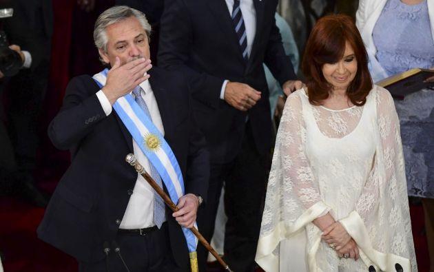 """""""La nación esta endeudada"""", sentenció el nuevo mandatario. Foto: AFP"""
