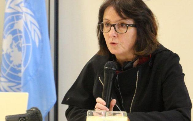 Dubravka Simonovic es la relatora especial de la ONU sobre la violencia contra la mujer. Foto: ONU.