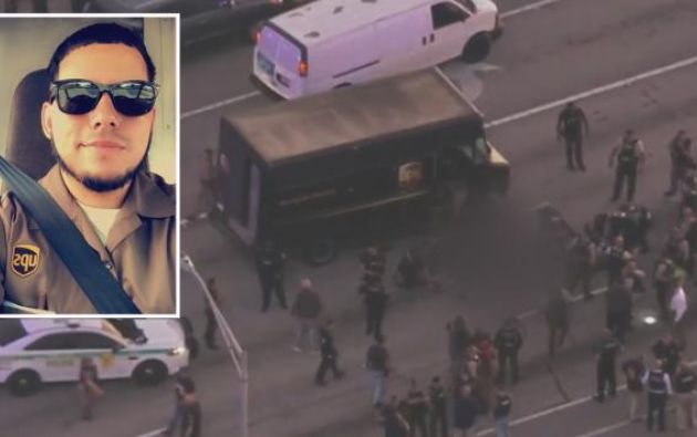 El ecuatoriano Frank Ordóñez, chófer de la empresa de correos UPS, murió la pasada semana durante un enfrentamiento entre la Policía local y dos ladrones.