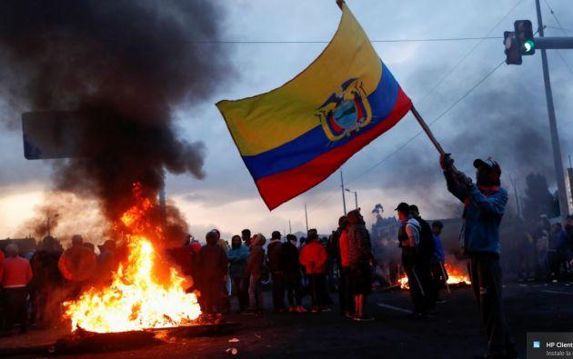 Durante doce días en el mes de octubre, Ecuador vivió una ola de protestas. Foto: Reuters.