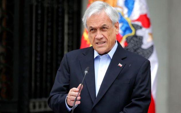 Sebastián Piñera es acusado por su presunta responsabilidad en las violaciones a los derechos humanos durante las protestas en Chile. Foto: AFP.