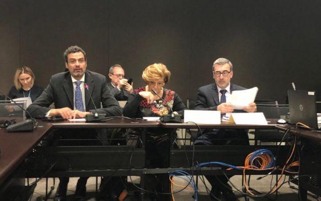 """La presidenta de la CIDH consideró que el informe constituye """"una hoja de ruta que puede orientar y guiar un trabajo que definitivamente corresponde a los Estados""""."""